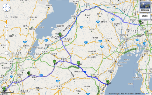 江大移動マップ